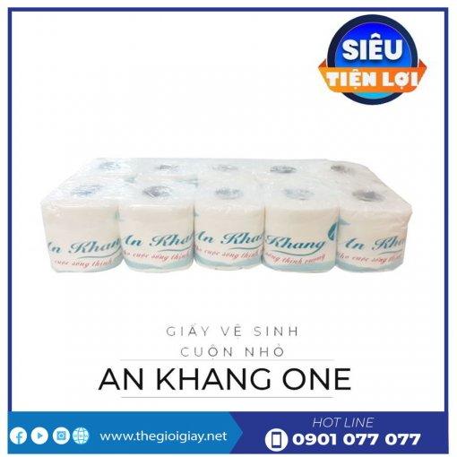 Cung cấp giấy vệ sinh cuộn nhỏ An Khang One -thegioigiay.net