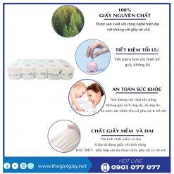 Ưu điểm của giấy vệ sinh cuộn nhỏ An Khang One - thegioigiay.net