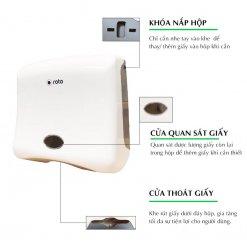 Đặc điểm của hộp đựng giấy lau tay Roto1280A