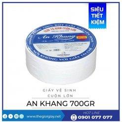 Mua giấy vệ sinh cuộn lớn an khang caro700-thegioigiay.net