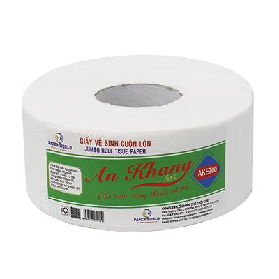 Giấy vệ sinh cuộn lớn an khang eco700