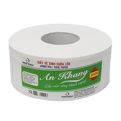 Giấy vệ sinh cuộn lớn an khang soft 900