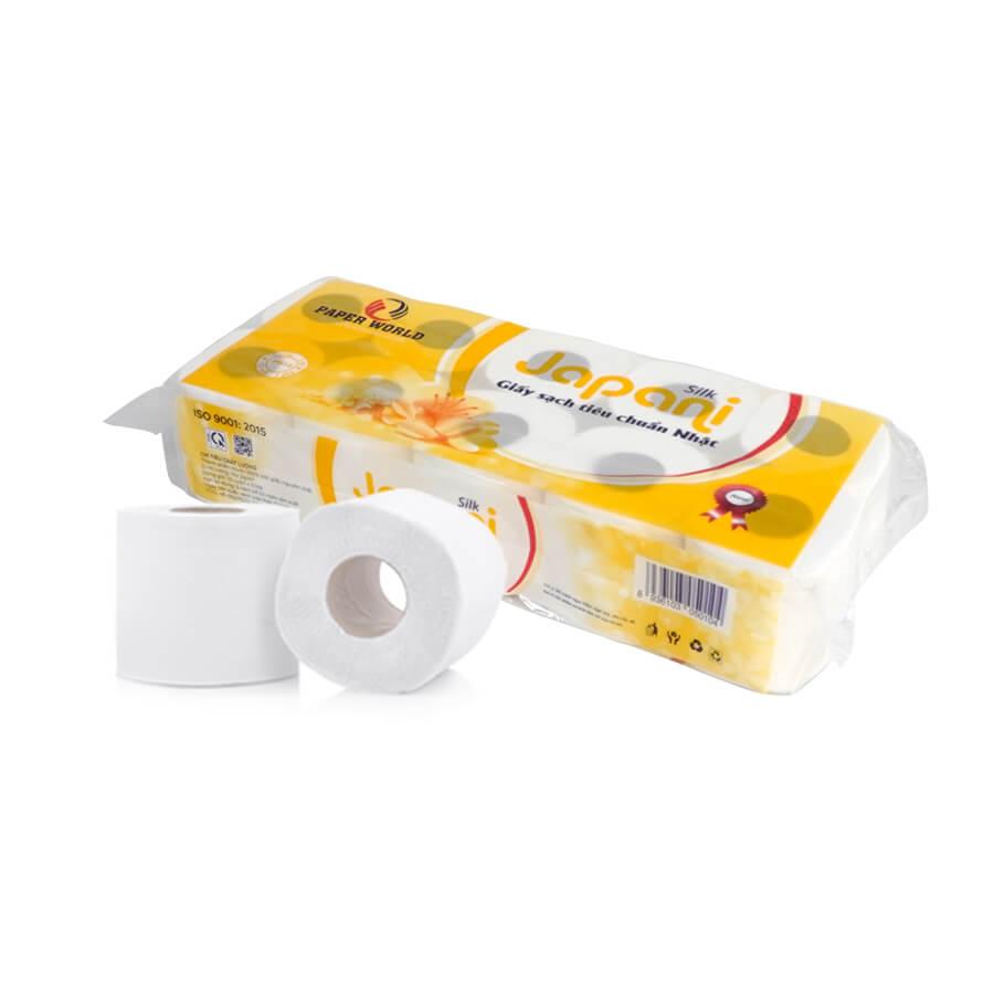 Giấy vệ sinh cuộn nhỏ Japani Soft10-thegioigiay.net