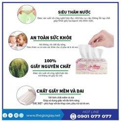 Ưu điểm của khăn giấy lau tay An Khang 24-2-thegioigiay.net