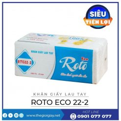 Khăn giấy lau tay roto eco22-2-thegioigiay.net