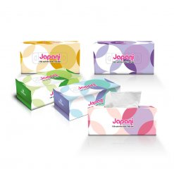 Khăn giấy lụa hộp Japani