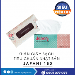 Khăn giấy sạch hộp cao cấp japani thegioigiay.net