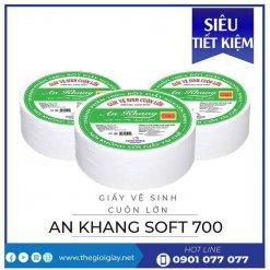 Mua giấy vệ sinh cuộn lớn an khang soft700-thegioigiay.net