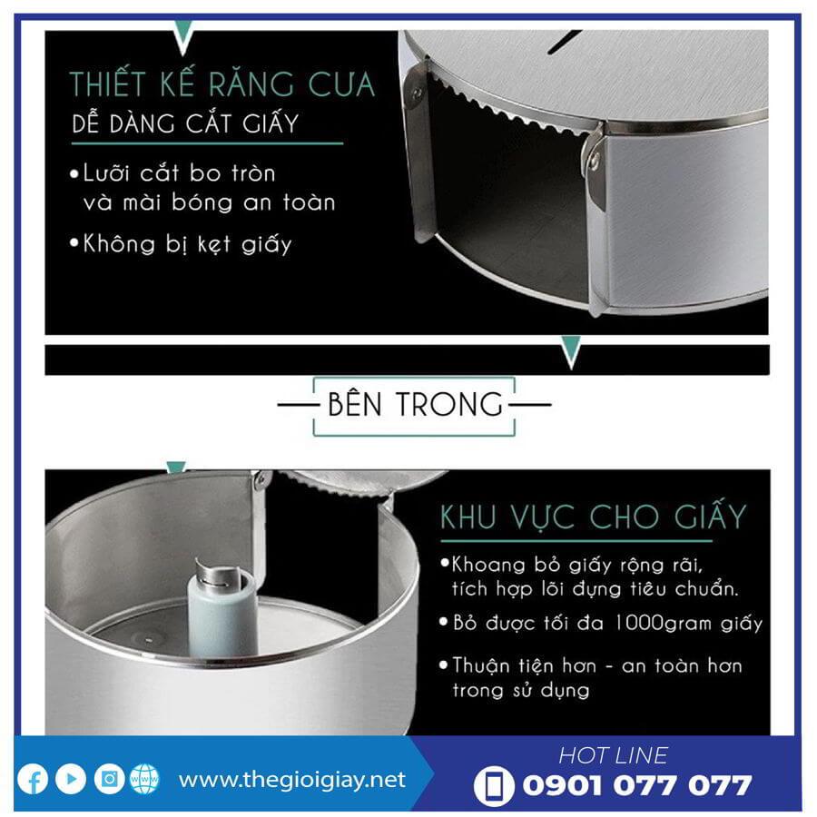 Đặc tính hộp đựng giấy inox roto5822I - thegioigiay.net