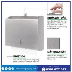 Đặc điểm hộp đựng khăn giấy lau tay roto1220I-thegioigiay.net