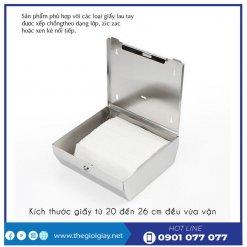 Bên trong hộp đựng khăn giấy lau tay roto1220I - thegioigiay.net