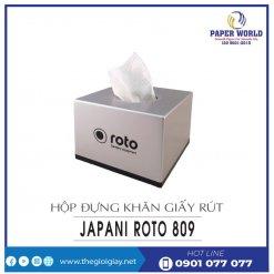 Mua hộp đựng khăn giấy rút japani roto809-thegioigiay.net