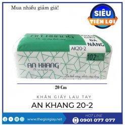 Mua khăn giấy lau tay an khang 20-2-thegioigiay.net
