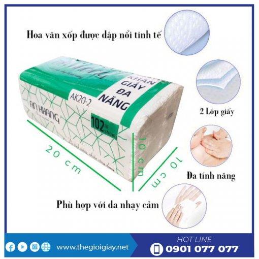 Đặc điểm khăn giấy lau tay an khang 20-2-thegioigiay.net
