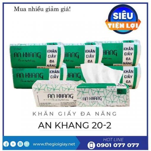 Cung cấp khăn giấy lau tay an khang20-2-thegioigiay.net