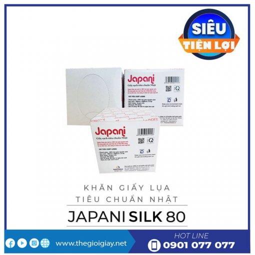 Cung cấp hộp khăn giấy lụa japani silk80-thegioigiay.net