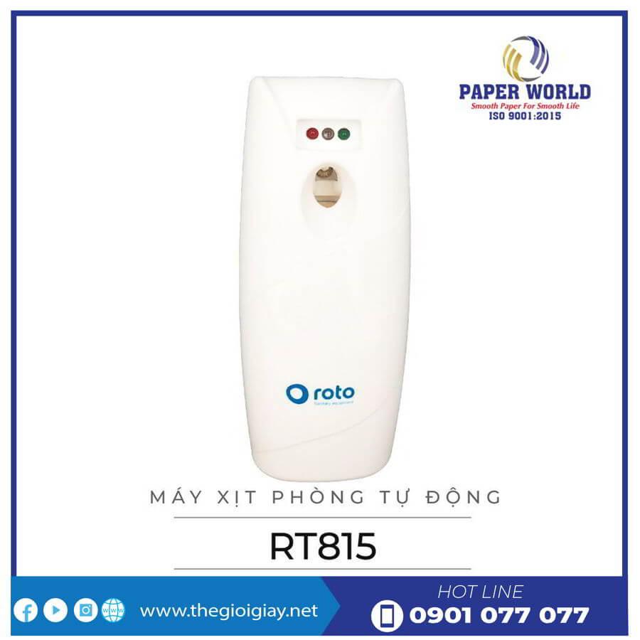 Mua máy xịt phòng nước hoa tự động roto815-thegioigiay.net