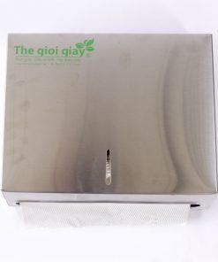 Hộp đựng khăn giấy lau tay Inox vuông Roto1220I | RT1220I