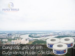 Cung cấp giấy vệ sinh cuộn lớn tại Huyện Cần Giờ