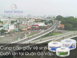 Cung cấp giấy vệ sinh cuộn lớn tại Quận Gò Vấp