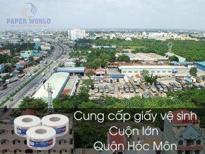 Cung cấp giấy vệ sinh cuộn lớn tại Huyện Hóc Môn
