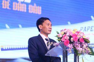 Ông Mai Quốc Bình - CEO Thế Giới Giấy phát biểu khai mạc chương trình