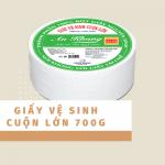 Giấy vệ sinh cuộn lớn An Khang Soft 700g | Thế Giới Giấy