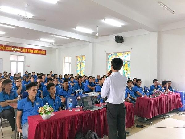 Tập huấn an toàn lao động tại Thế Giới Giấy - PaperWorld