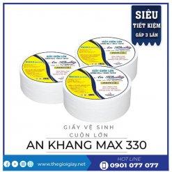Giấy cuộn lớn An Khang Max330-thegioigiay.net