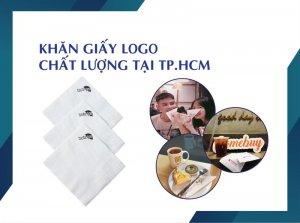 Thế Giới Giấy in logo miễn phí trên khăn giấy - thegioigiay.net
