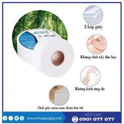Đặc điểm của giấy vệ sinh cuộn lớn An Khang max180-thegioigiay.net