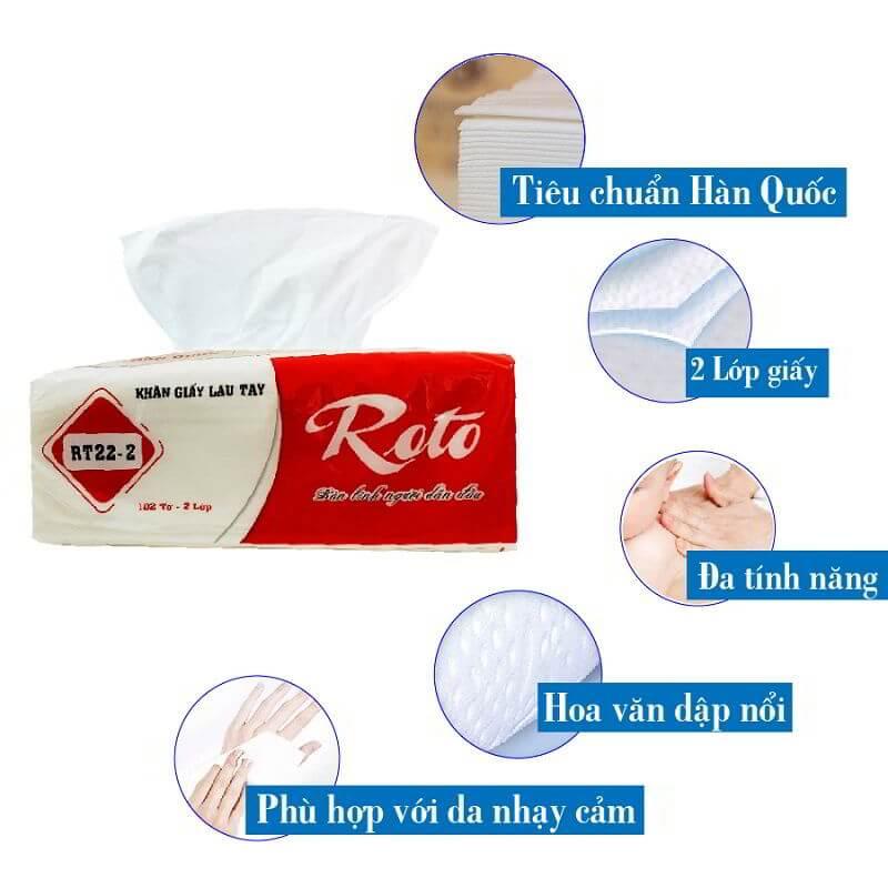 Đặc tính các sản phẩm khăn giấy lau tay tại Thế Giới Giấy