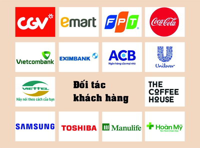 Một số khách hàng tiêu biểu của Thế Giới Giấy