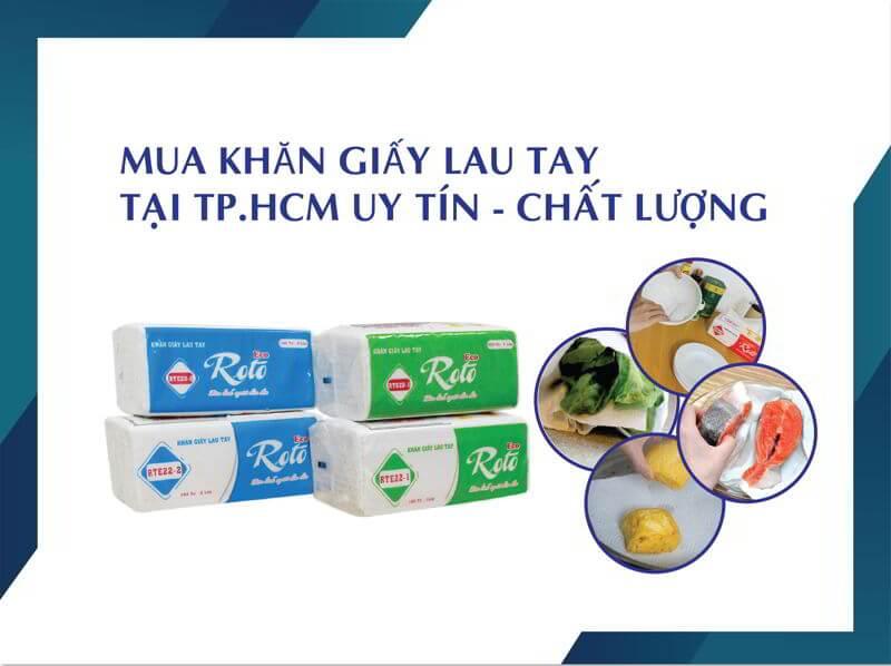 Mua khăn giấy lau tay uy tín chất lượng tại tphcm-thegioigiay.net
