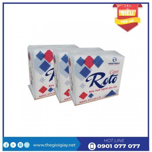 Cung cấp khăn giấy ăn cao cấp roto care102-thegioigiay.net