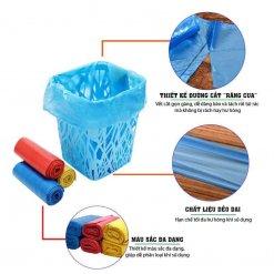 Đặc điểm của túi rác Eco màu