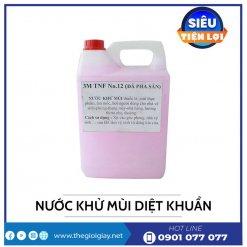 Cung cấp nước khử mùi diệt khuẩn can 5 lít -thegioigiay.net