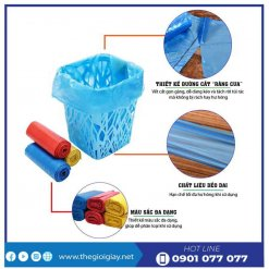 Đặc điểm của túi rác màu saving - thegioigiay.net