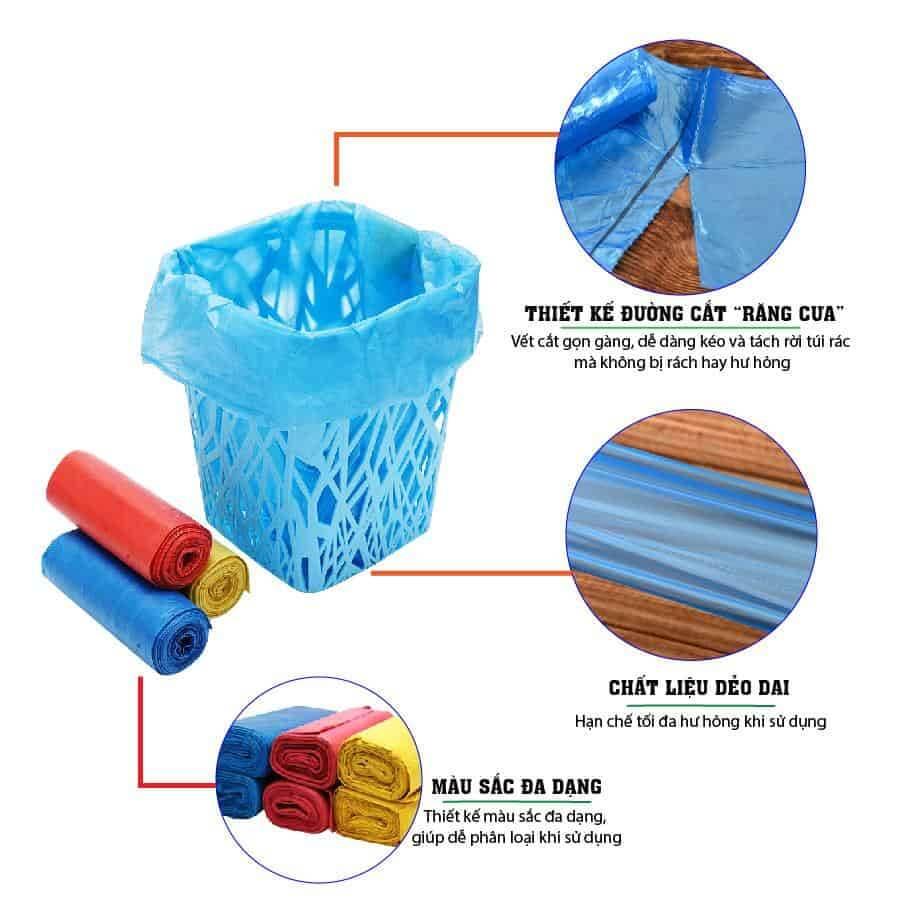 Đặc điểm của túi rác saving