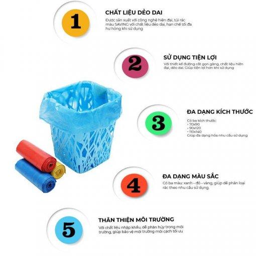 Lợi ích khi sử dụng túi rác saving