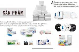 Các loại sản phẩm tại Thế Giới Giấy