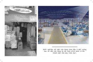 Sự thay đổi cơ sở sản xuất tại Thế Giới Giấy