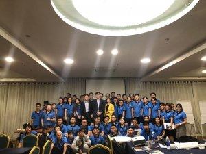 Toàn thể nhân viên Thế Giới Giấy được đào tạo Trải Nghiệm Khách Hàng từ chuyên gia Nguyễn Dương