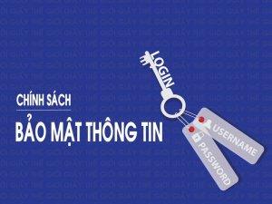 Chính sách bảo mật tại Thế Giới Giấy - thegioigiay.net
