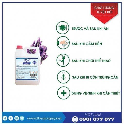Công dụng của gel rửa tay khô diệt khuẩn GT999