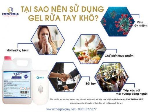 Tại sao nên sử dụng gel rửa tay khô diệt khuẩn