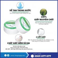 Đặc điểm của giấy vệ sinh cuộn lớn An Khang Eco700