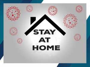 stay at home Thế Giới Giấy