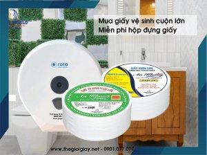 Giấy vệ sinh cuộn lớn giá bao nhiêu?