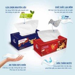 Đặc điểm hộp đựng giấy lụa tết